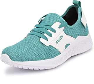 Belini Women's SEA Green Running Shoes