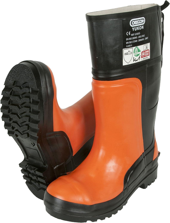 Oregon Yukon II Size 9.5 44 Chainsaw Safety Boots