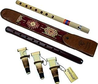 SALE - Semi-Professional ARMENIAN DUDUK Pack - 3 reeds - handmade Oboe Balaban Woodwind Instrument Apricot Wood National case - Gift Armenian flute with Playing Instruction