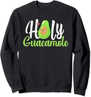 Cute Holy-Guacamole Funny-Avocado Halo Avocado-Pregnant Sweatshirt