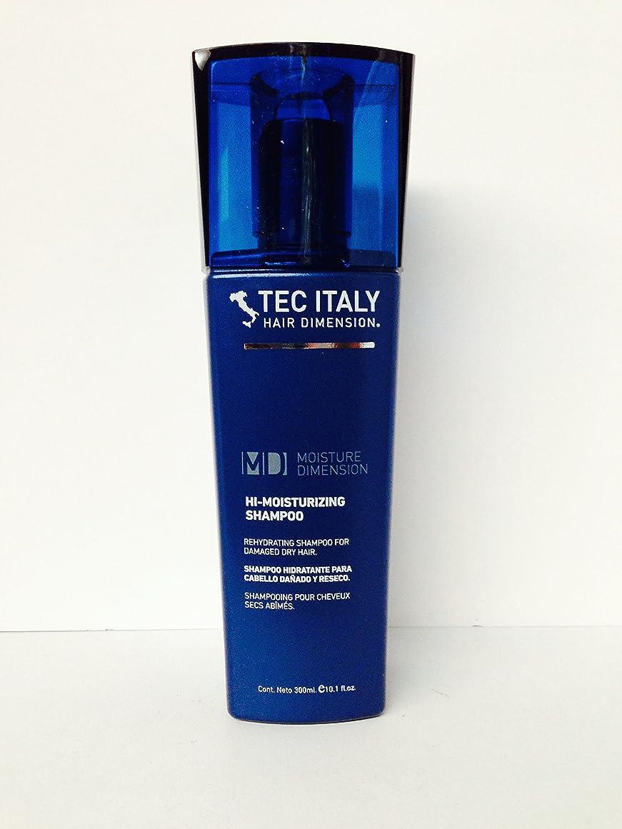 対燃やす有彩色のTec Italy Hair Dimension Moisture Dimension Hi-moisturizing Shampoo 10.1 Oz by Unknown [並行輸入品]