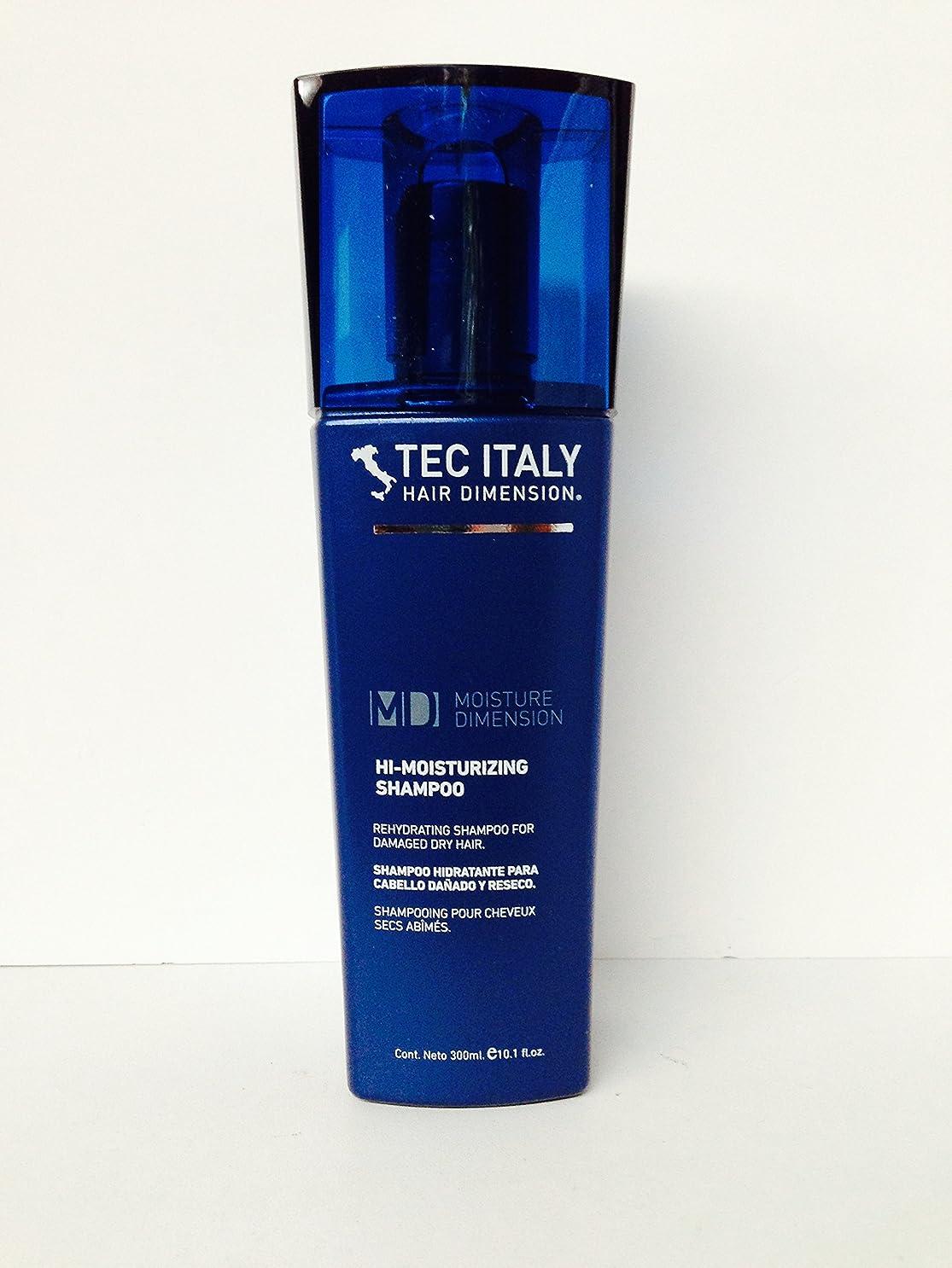 トランザクション愛情深い機関車Tec Italy Hair Dimension Moisture Dimension Hi-moisturizing Shampoo 10.1 Oz by Unknown [並行輸入品]