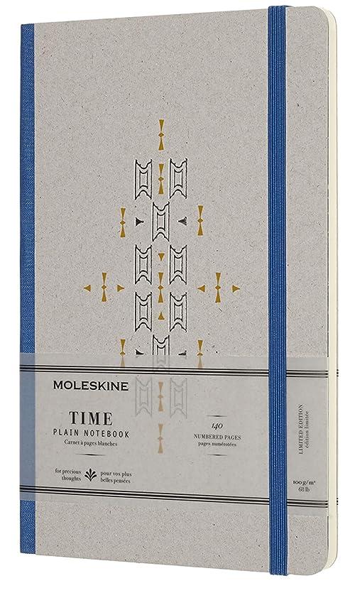 曲線花婿出演者Moleskine Limited Collection Time Notebook , Hard Cover, Large (5