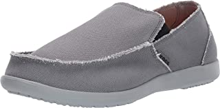 crocs santa cruz light grey charcoal