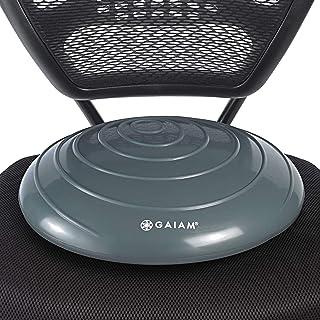 Gaiam Balance Disc Wobble Cushion Stability Core Trainer for Home or Office Desk Chair & Kids Alternative Classroom Sensor...