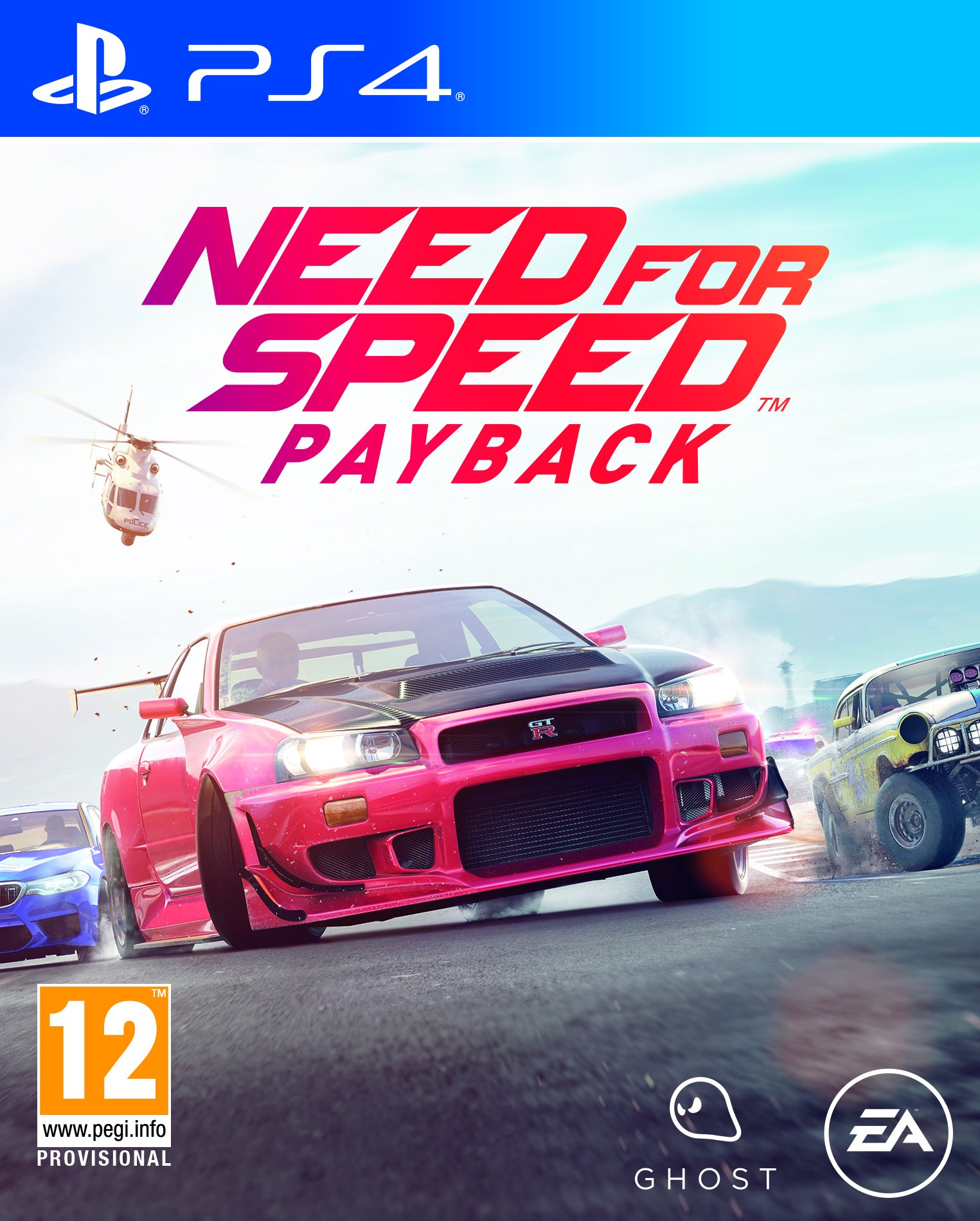 Amazon Com Need For Speed Payback Ps4 Video Games