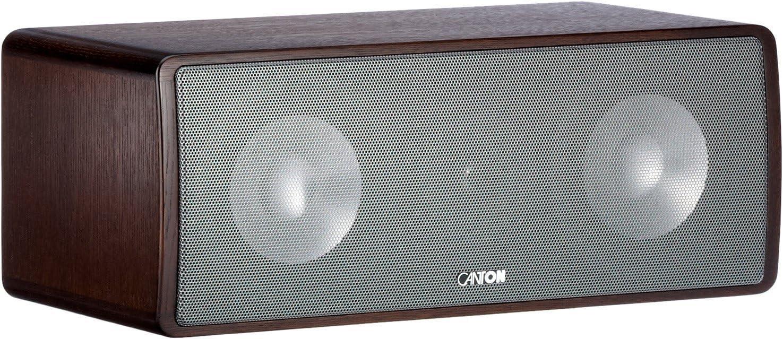 Canton Ergo 655 Center 2 5 Wege Bassreflex Center Kompaktlautsprecher 110 160 Watt Wenge Braun 1 Stück Audio Hifi