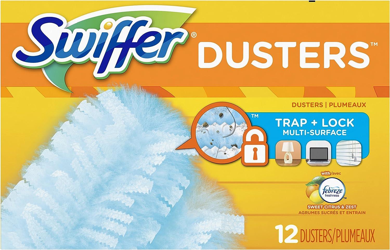 Swiffer 180 Dusters Multi Cheap Surface Citrus scent Zest wholesale Refills