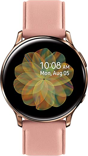 SAMSUNG Galaxy Watch Active 2 (40mm, GPS, Bluetooth, Unlocked LTE) Smart Watch with Advanced Health Monitoring, Fitness Tracking, and Long Lasting…