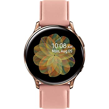 Samsung Galaxy Watch Active 2 (40MM, GPS, Bluetooth, Unlocked LTE) Smart Watch with Advanced Health Monitoring, Fitness Tracking , and Long Lasting Battery - Pink Gold - (US Version)