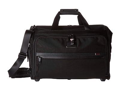 Tumi Alpha 3 Framed Soft Duffel (Black) Luggage