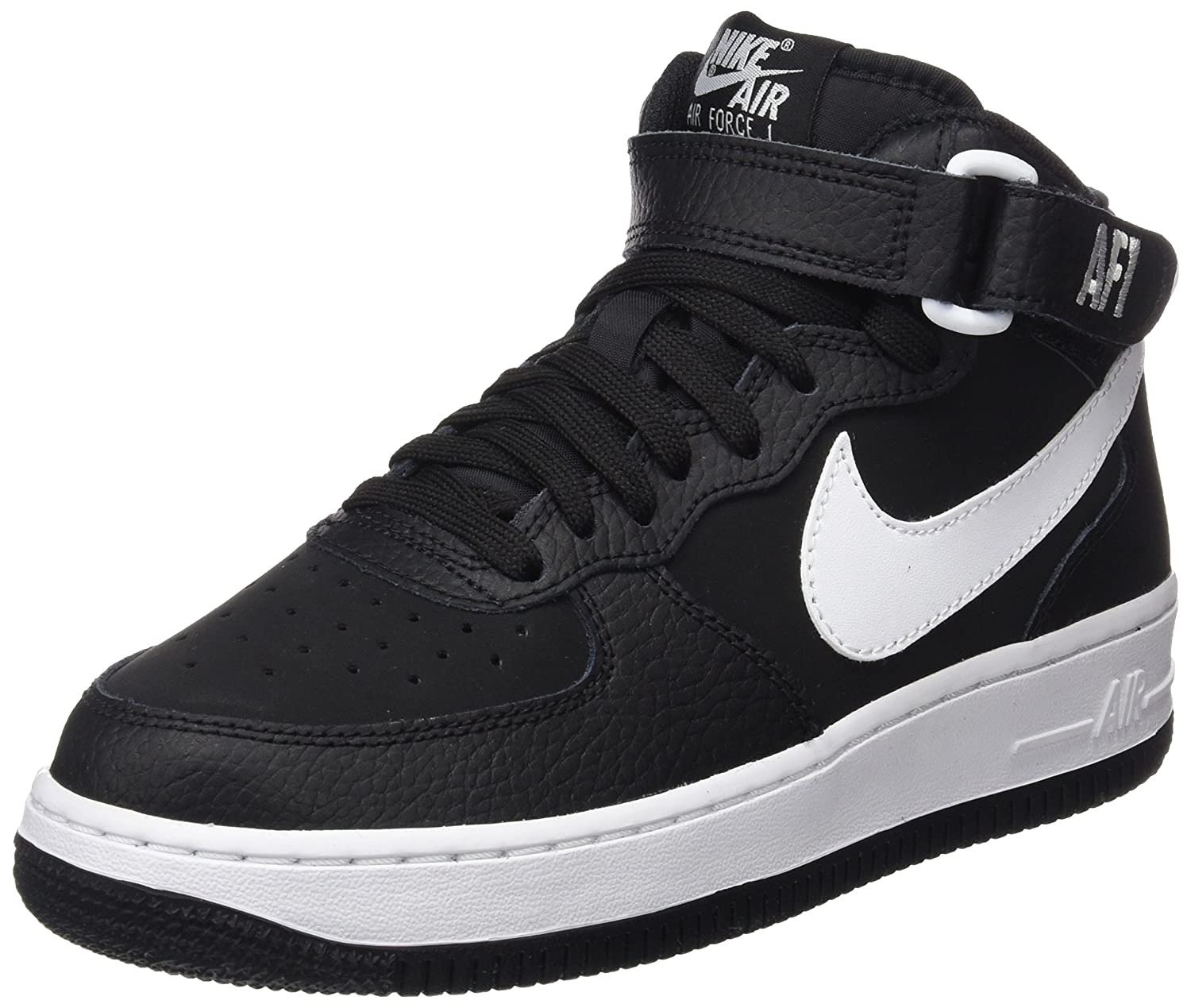 [ナイキ] Nike - Air Force 1 Mid GS [並行輸入品] - 314195038 - Size: 23.5