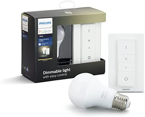 Philips Hue Wireless Smart Dimming Kit (Installation-Free, Exclusive for Philips Hue Lights, Compatible with Amazon A...