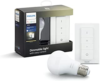 Philips Hue Wireless Smart Dimming Kit (Installation-Free, Exclusive for Philips Hue Lights, Compatible with Amazon Alexa,...