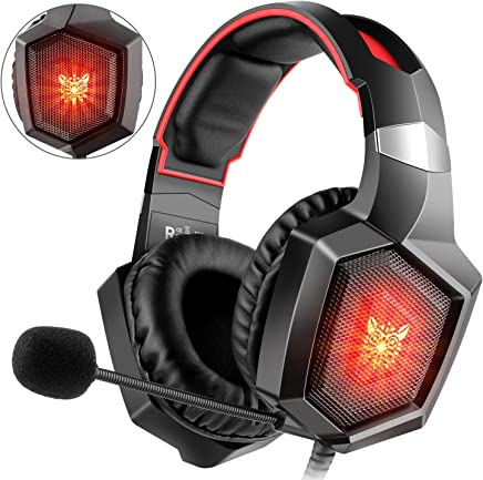 Willnorn K8stereo Gaming Headset per PS4, Xbox One, Nintendo switch, PC, PS3, Mac, laptop, cuffie Headset PS4Xbox One Headset con suono surround, LED e microfono Noise canceling - Trova i prezzi più bassi