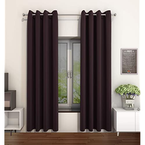 Brown Curtains: Amazon.co.uk