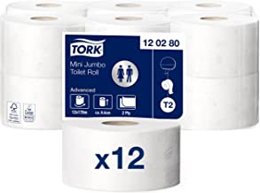 4 plis Tork 110405 Papier toilette 1 x lot de 6 rouleaux traditionnels extra doux Premium 6 x 153 feuilles Compatible avec le syst/ème T4