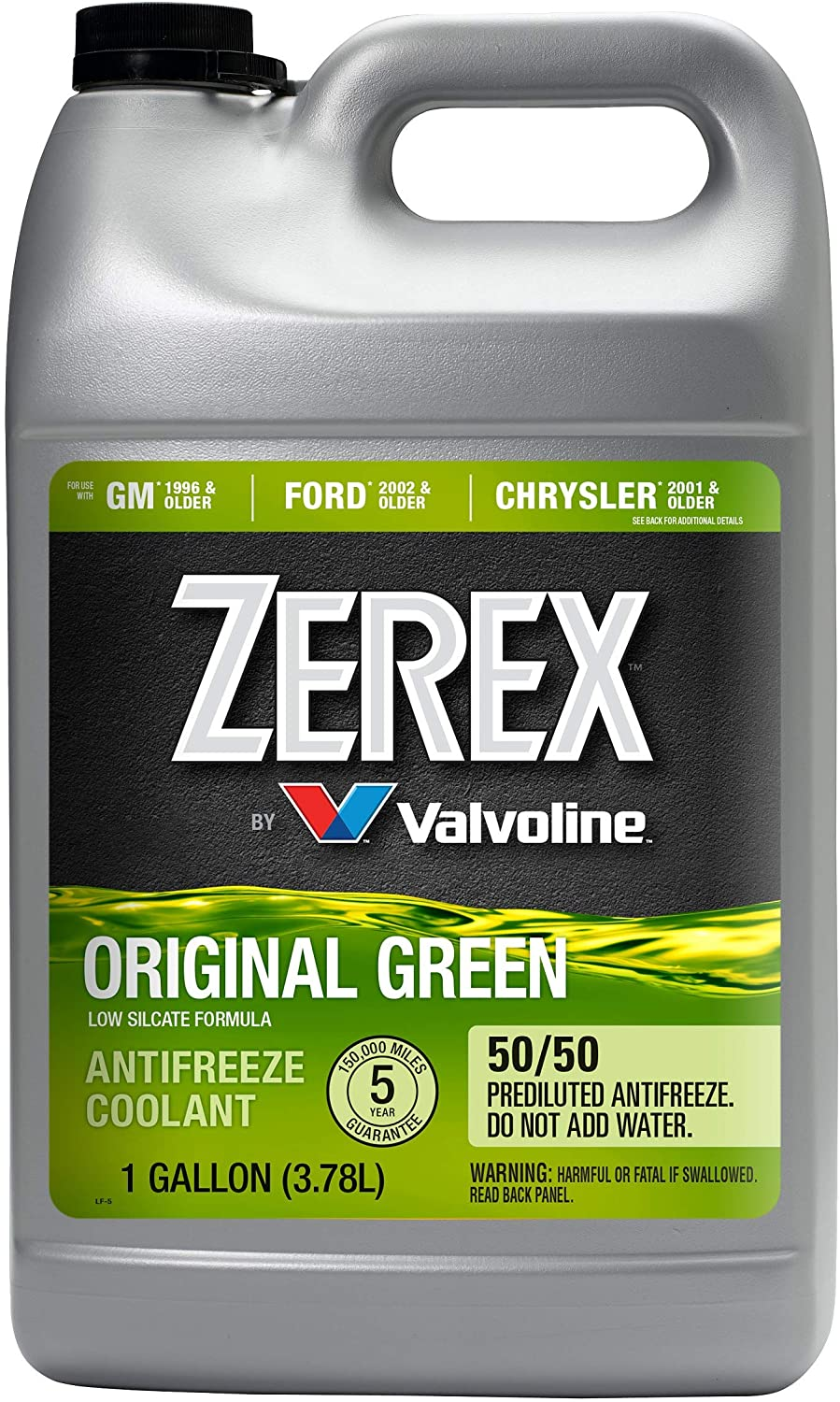 Zerex 70% OFF Outlet Low price Original Green 50 Antifreeze Co Ready-to-Use Prediluted