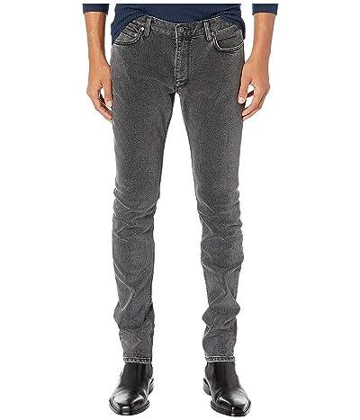 John Varvatos Collection Chelsea Fit Zipper Ticket Pocket Jeans in Black J332V3 (Oxide) Men