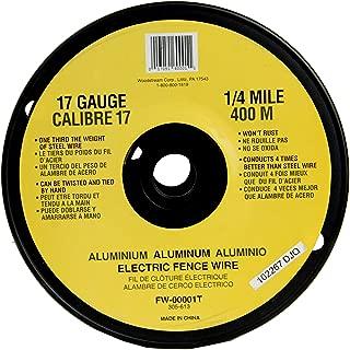 Fi-Shock FW-00001T 1/4 Mile, 17 Gauge Spool Aluminum Wire