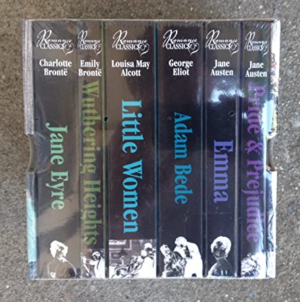 Romance Classics (Pack of 6 Books): Emma / Pride & Prejudice / Adam Bede / Little Women / Wuthering Heights / Jane Eyre