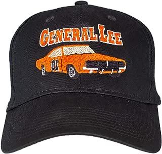 The Dukes of Hazzard General Lee Black Baseball Cap Hat