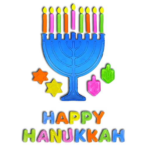Happy Hanukkah Colorful Felt Banner 5/' Long PA