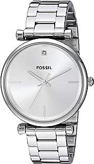 Women's Carlie Stainless Steel Diamond Accent Quartz Watch