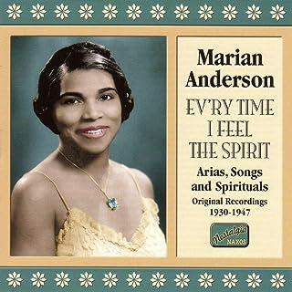 アリア・歌曲・黒人霊歌集「精霊を感じるたびに」(1930-1947)(Marian Anderson Vol.2)...