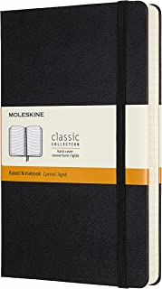 Moleskine Classic Expanded Notebook, Hard Cover, Large (5