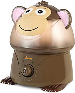 Crane Filter-Free Cool Mist Humidifiers for Kids, Monkey