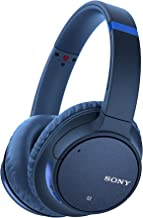 Sony WH-CH700N Wireless Bluetooth Noise Canceling Over the Ear Headphones with Alexa Voice Control – Blue