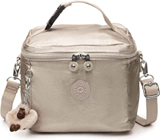Kipling Graham Insulated Lunch Bag, Adjustable Crossbody Strap, Zip Closure