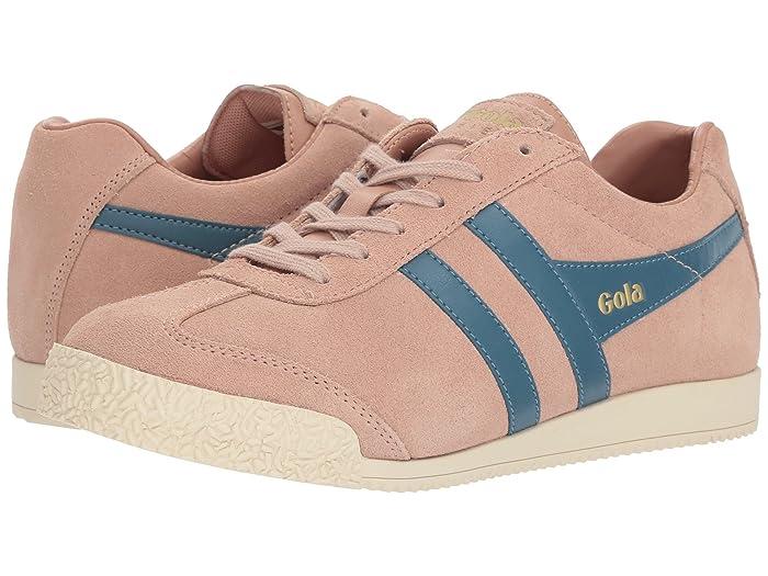 Details zu Gola Classics Gola Harrier damen Suede Leder Sneakers