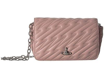 Vivienne Westwood Coventry Mini Crossbody (Pink) Cross Body Handbags