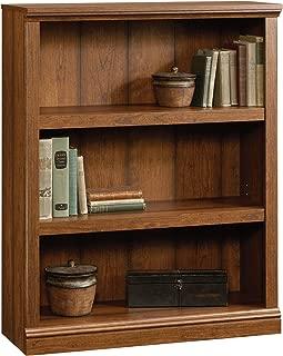 Sauder Select 3-Shelf Bookcase, Washington Cherry finish