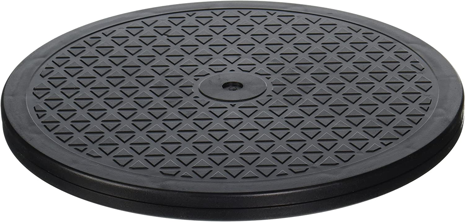 LapWorks 15 inch Heavy Duty Swivel - 360˚ Rotation - Utility Lazy Susan Base for TV's, Monitors, Laptops, Tablets, Stereos, and More