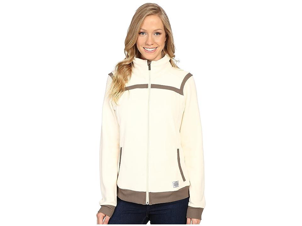 Toad&Co Bear Creek Fleece Jacket (Polar Bear) Women