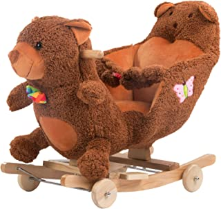Best wooden toy horse with wheels Reviews