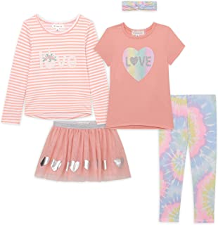 Girls Kids Fall Clothing and Accessory Set- 5pc Mix And...