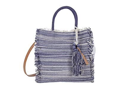 Lucky Brand Khim Tote (Blue Multi) Handbags