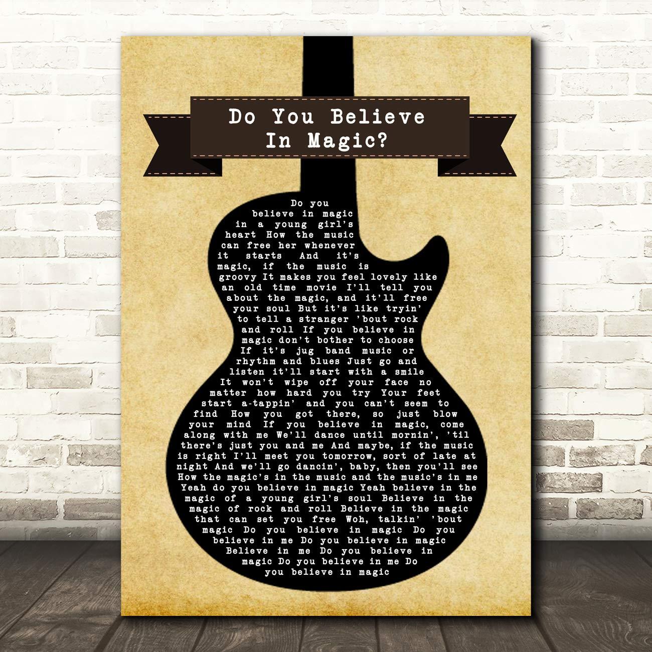 The Lovin Spoonful Do You Believe in Magic - Letra, diseño de ...