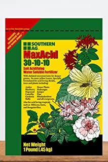 Southern Ag Max Acid Water Soluble Fertilizer 30-10-10, 1 LB