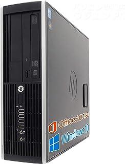 HP デスクトップPC 6200Pro/wajun(ワジュン) XS PCバッグセット/MS Office 2019/Win 10/Core i5-2400/HDMI/WIFI/Bluetooth/DVD/8GB/128GB SSD (整備済み品)