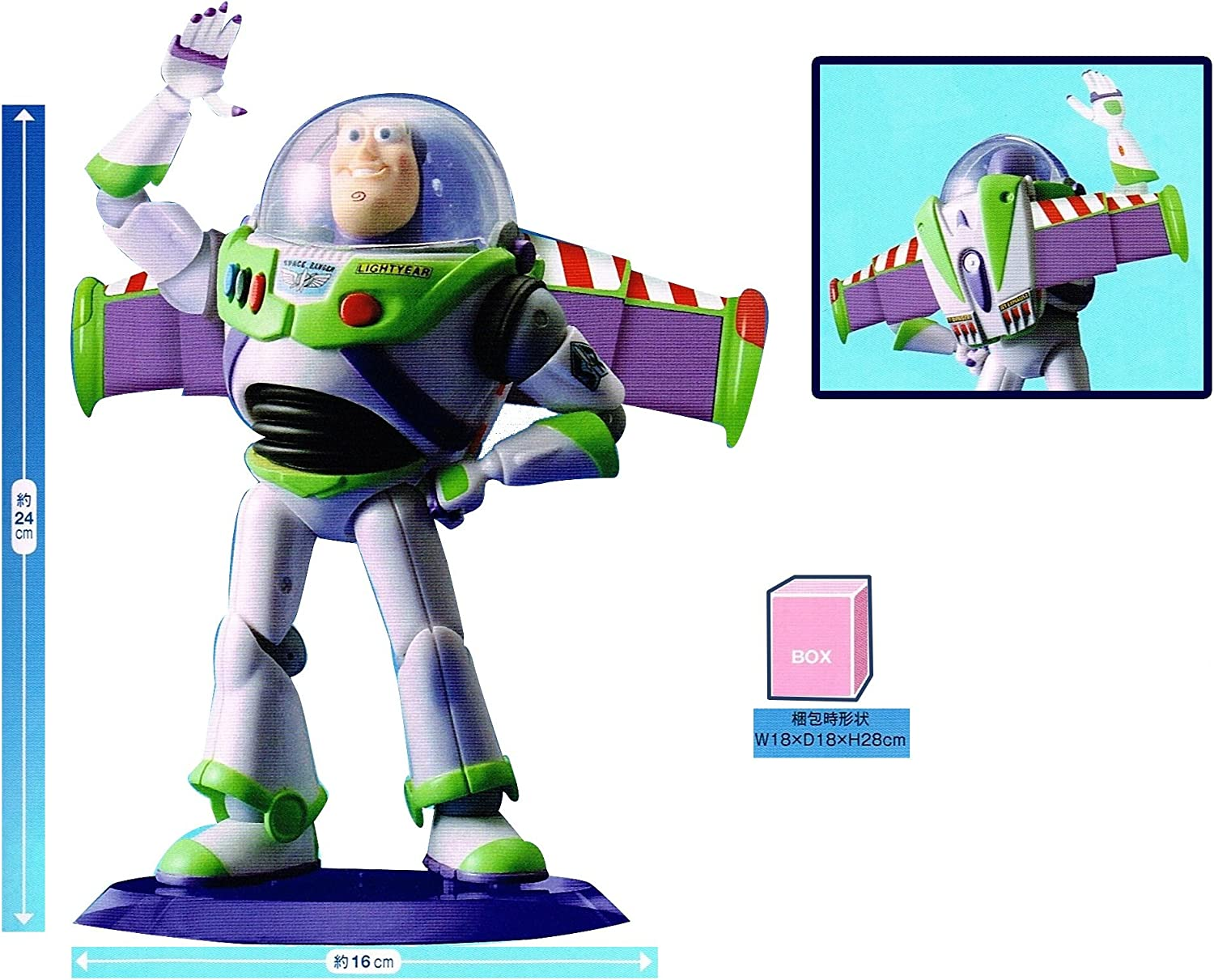 Toy Story Toy Story Buzz Lightyear Premium Figure all one