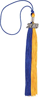 Two-Colored Graduation Tassel with Gold/Silver 2018 Year Charm