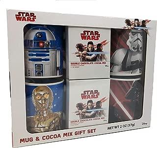 Star Wars Mug & Cocoa Mix 4 Mug Set