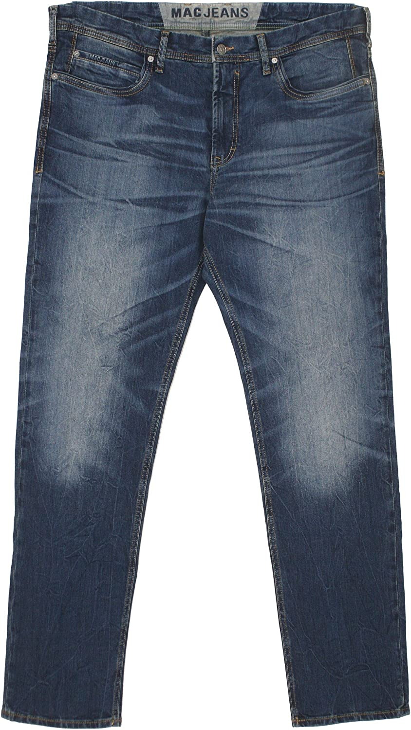 MAC Herren Jeans Ben Pipe Regular Fit Recycled Denim, Größe W35 L32;Farbe light authentic B013SZLKTS  Stimmt