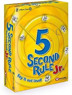 5 Second Rule Junior, Card Game GF002