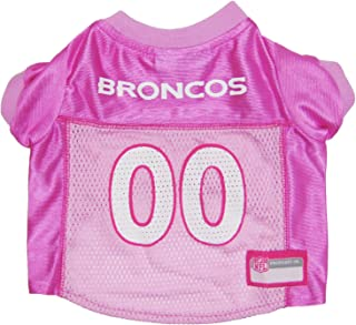 NFL PINK PET APPAREL. JERSEYS & T-SHIRTS for DOGS & CATS available in 32 NFL TEAMS & 4 sizes. Licensed, TOP QUALITY & Cute pet clothing for all NFL Fans